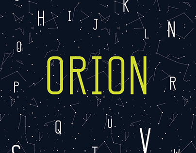 Orion Typeface