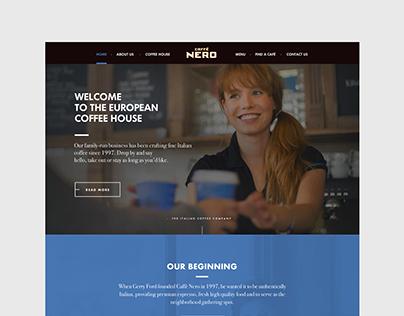 Caffe Nero Redesign