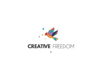 Creative freedom logo