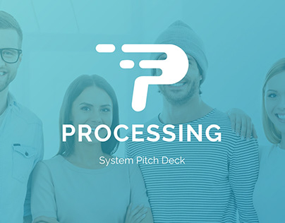 Processing System Powerpoint Pitch Deck Template