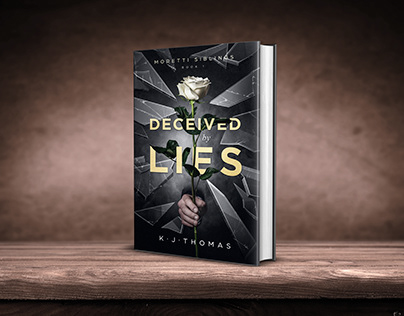 Deceived by Lies book cover design