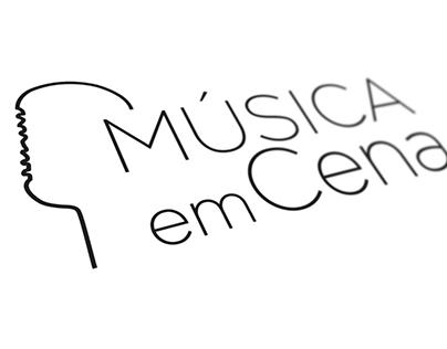 Identidade Visual // Música em Cena