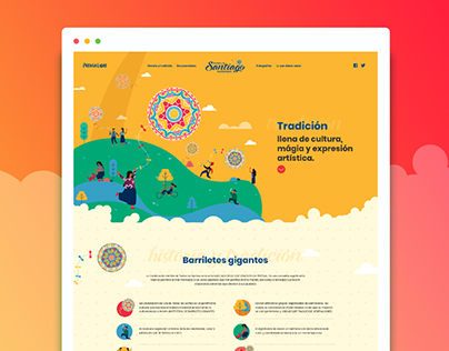 Landing Page Santiago