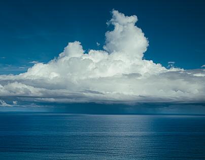 The Pacific Ocean Blue