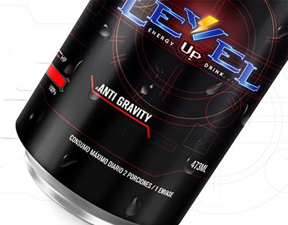 Level Up | Bebida energética para gamers