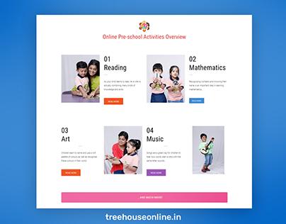 WordPress website for Treehouse Online