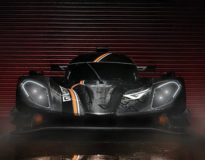 Race Car Retouching