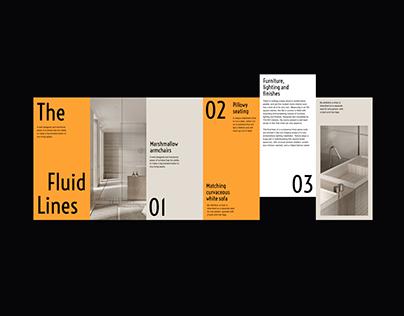 The Fluid Lines Visual Presentation