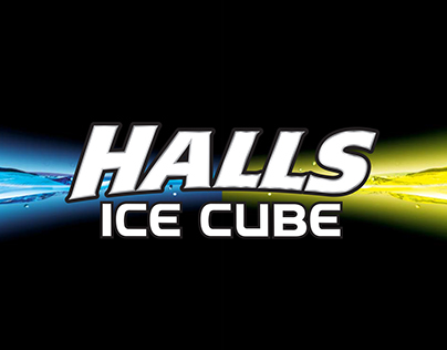 Halls Ice Cube Store Prmotion