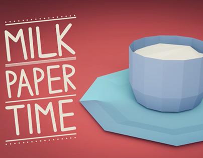 Milk Paper Time