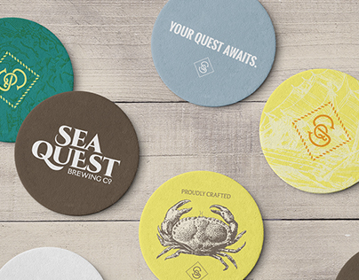 Sea Quest — Branding