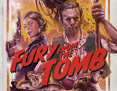 Fury From the Tomb - Book Cover