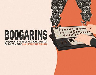 """Boogarins - """"Lá Vem a Morte"""" em Porto Alegre"""