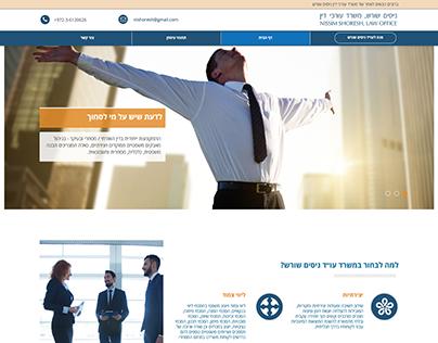 Lawyers mini-site format