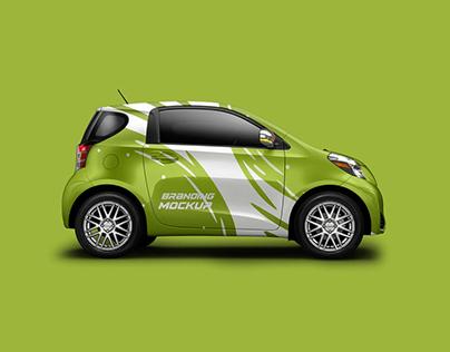 40+ Magnificent Car Branding Mockup Templates