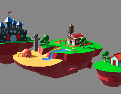 LowPoly Study
