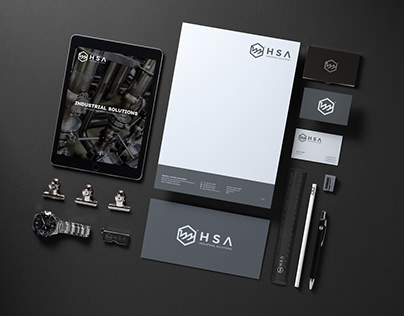 Corporate Identity - Industrial Solutions Company