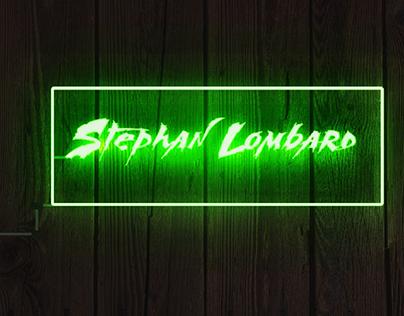 Neon Text Logo