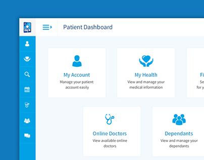 Medical/Healthcare Web Application/Dashboard