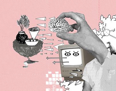 brainmess - collage