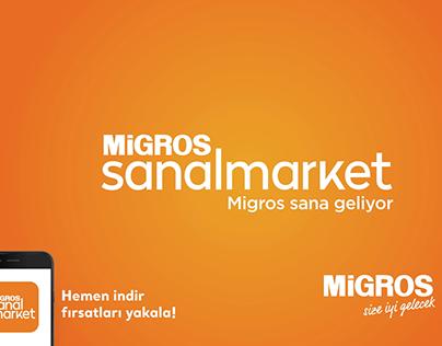 Migros Sanal Market / Motion Design