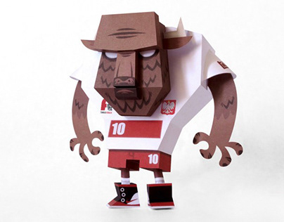 BISON BONASUS PAPER TOY BY TOUGUI & ANIMATION FOUND