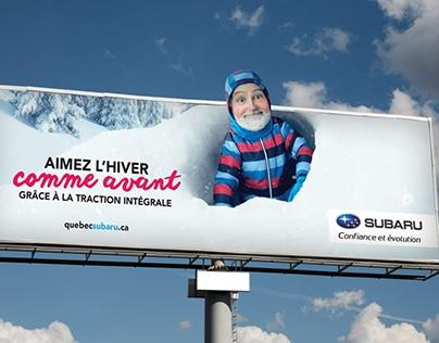 Aimez l'hiver comme avant (Subaru Québec)