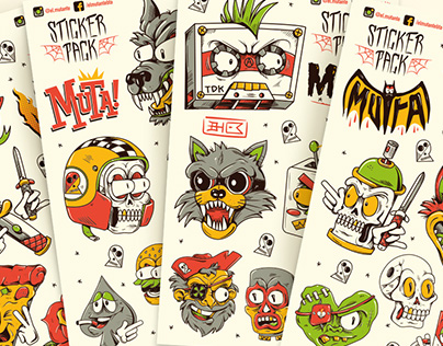 Sticker Pack *Mutante*