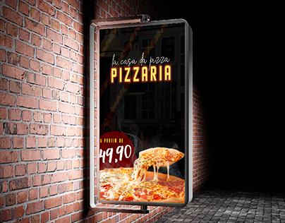 Banner - Lá Casa Da Pizza