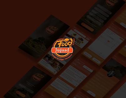 FoodJugaad Mobile Application Design