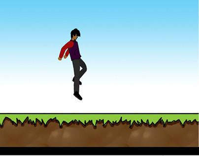 Walk & jump animation
