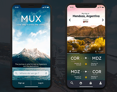 MUX: Travel App