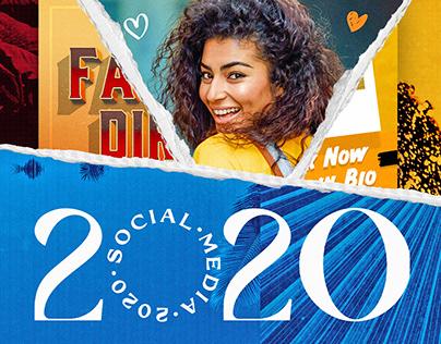 SOCIAL MEDIA 2 - 2 0 2 0