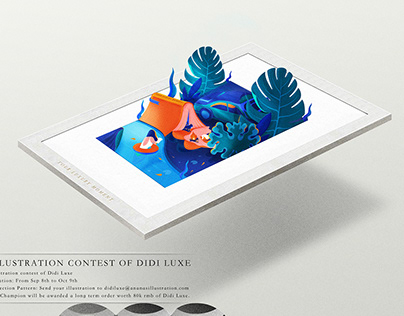 llustration contest of Didi Luxe