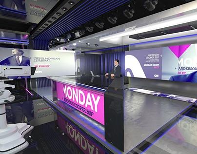 Russia 24 | News studio concept