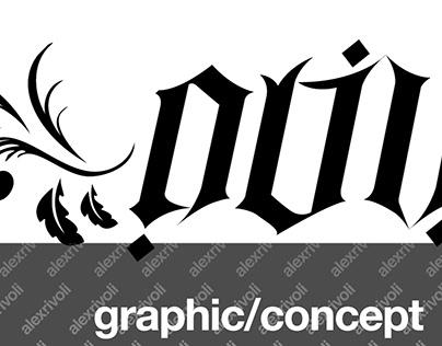 Oliver Laix - Ambigram | Anagram