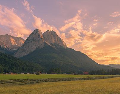 Around Alpspitze