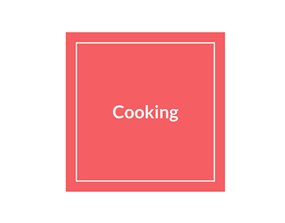 Cooking - Final Project for Product School