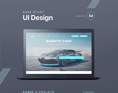 UI Design - Study Case