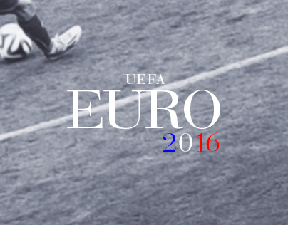 EURO 2016 Hand Lettering