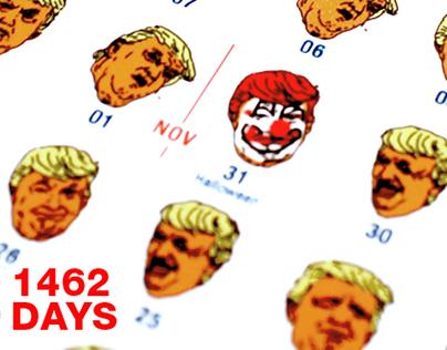 1462 DAYS OF TRUMP – A 4 YEAR CALENDAR