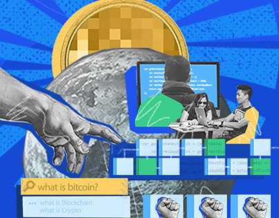 Cryptocurrency Blog Illustrations