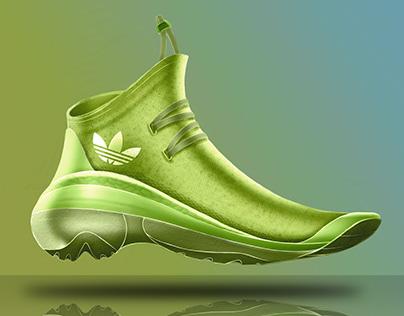 Neon Adidas Concept