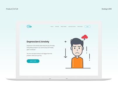 Brain9D Website (Redesign)