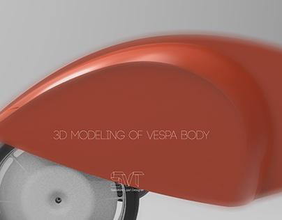 3D MODELING OF VESPA BODY