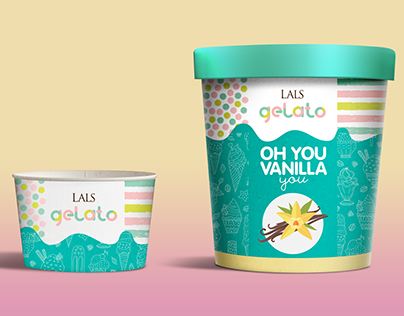 LAL's Gelato Logo & Package Design Pitch