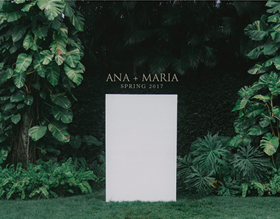 ANA+MARIA Spring Collection 2017