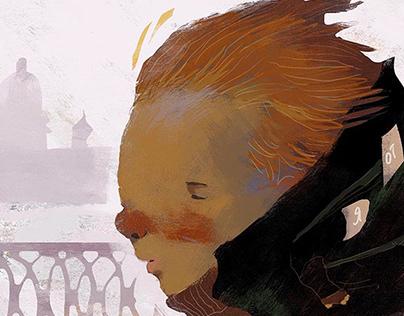Kolobok - character of russian fairy-tale