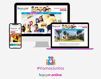Diseño Web Hoogar (Preescolar)