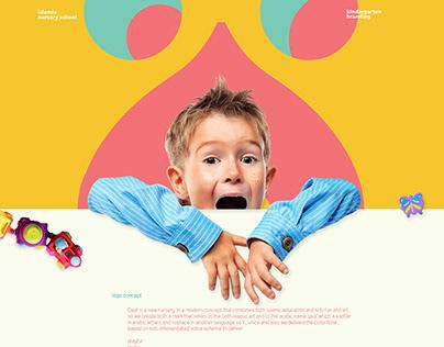 Qaaf Nursery | brand identity